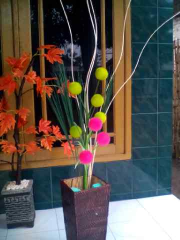 Bunga Meja Harga Mulai 50 Ribuan Gantung 30 Dinding Daun Red Mango Dan Green