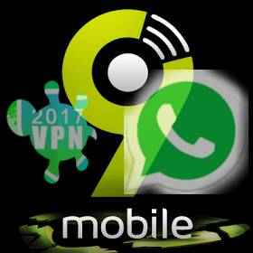 Whatsapp With 9mobile Via Office VPN