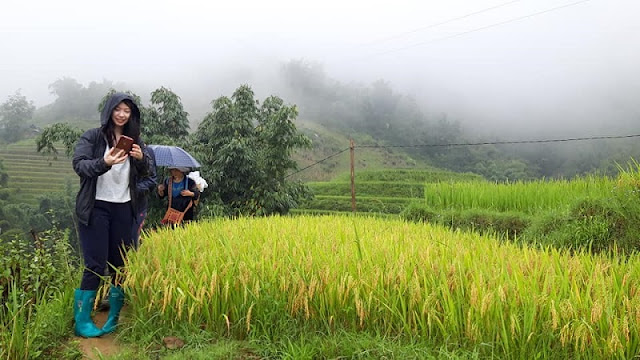Sapa Trekking Tours – Be Sure to Bring Rain Essentials 2