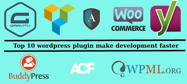 Top 10 WordPress plugin make development faster