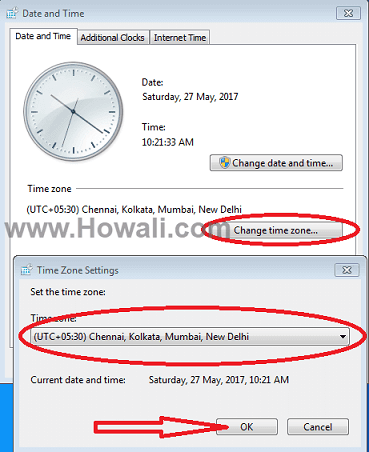 How to fix Windows 10/8/7 Time wrong issue