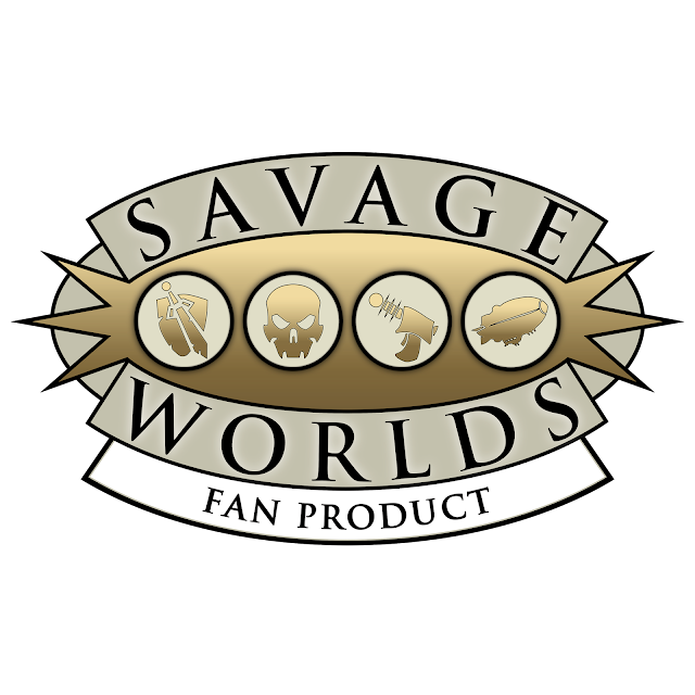 Savage Worlds Fan License logo