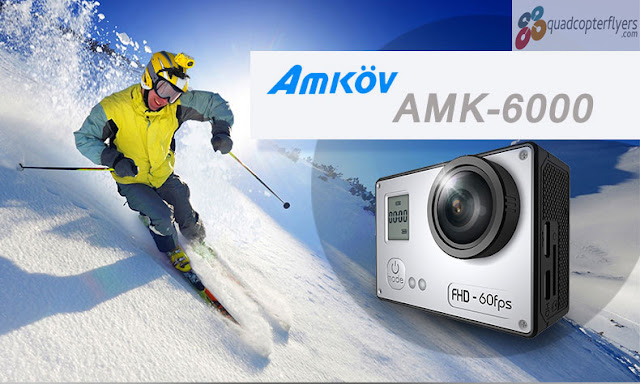 Amkov AMK-6000/6000s Wifi Sports Camera