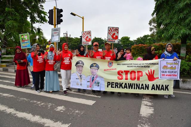Kalsel Kampanyekan Cegah Pernikahan Anak
