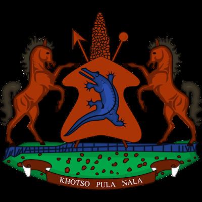 Coat of arms - Flags - Emblem - Logo Gambar Lambang, Simbol, Bendera Negara Lesotho