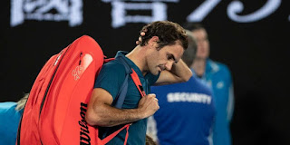 Roger Federer Knocked From Australian Open by Stefanos Tsitsipas