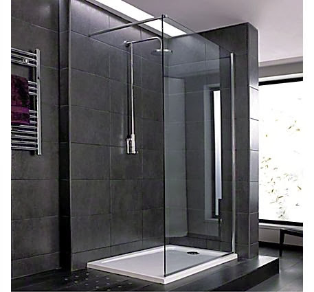 Mira shower modern grey design