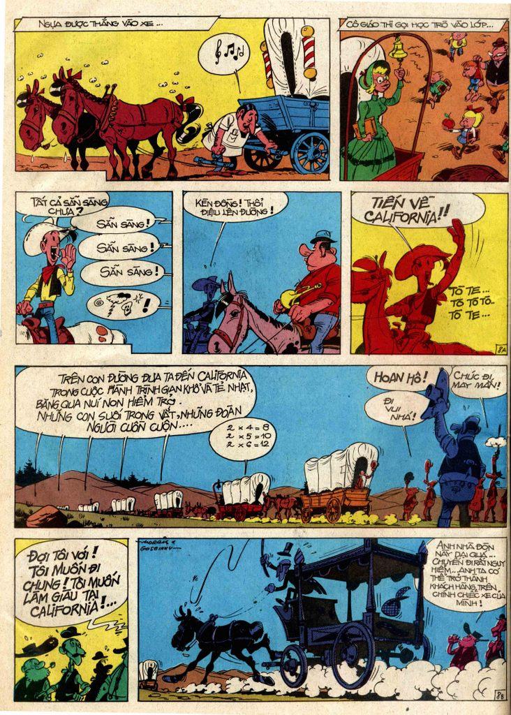 Lucky Luke tap 3 - doan lu hanh trang 8