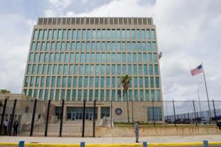 USA Embassy in Havana Cuba