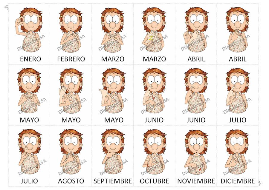 Juegos y Material Didáctico en Lengua de Señas Argentina®