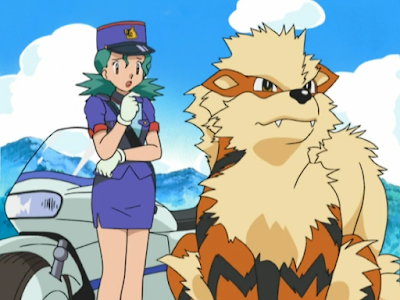 The officer Jenny Pokemon