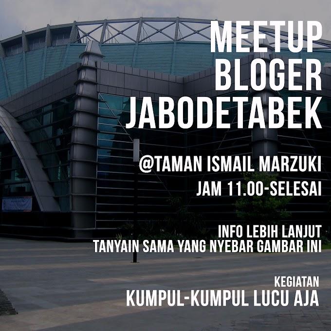 Kumpul-kumpul Lucu Bareng Blogger Jabodetabek