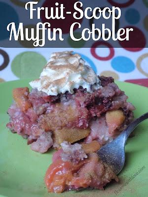 The 4-Ingredient Diabetes Cookbook: Fruit-Scoop Muffin Cobbler