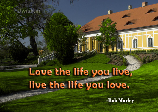 Inspirational & Motivational Bob Marley quotes e greeting cards and wishes.