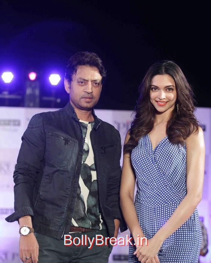Irrfan Khan, Deepika Padukone, Deepika Padukone Hot Pics At  'Piku' Promotion at Melange by Life Style