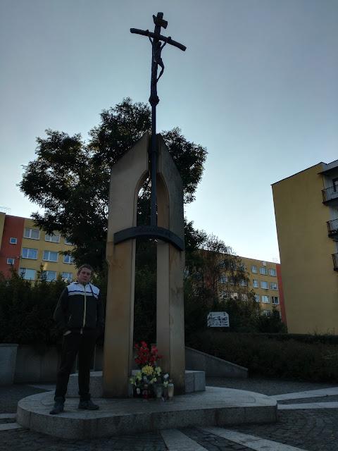 Pomniki Jana Pawła II - Skawina