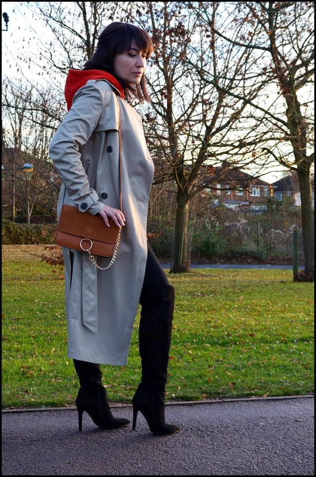 Bonprix Trench Coat in Winter