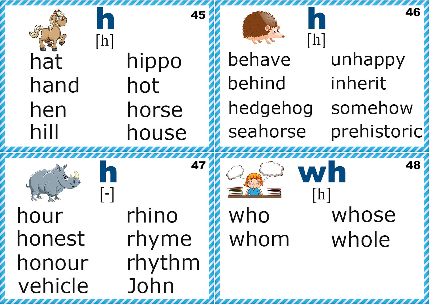English For Kids Step By Step Letter H Worksheets Flash
