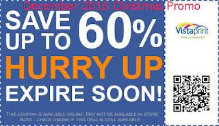Vistaprint coupons december 2016