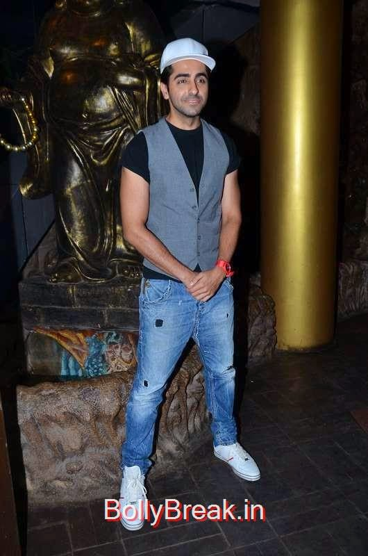 Ayushmann Khurrana, Richa Chadda's Birthday Party Hot Images