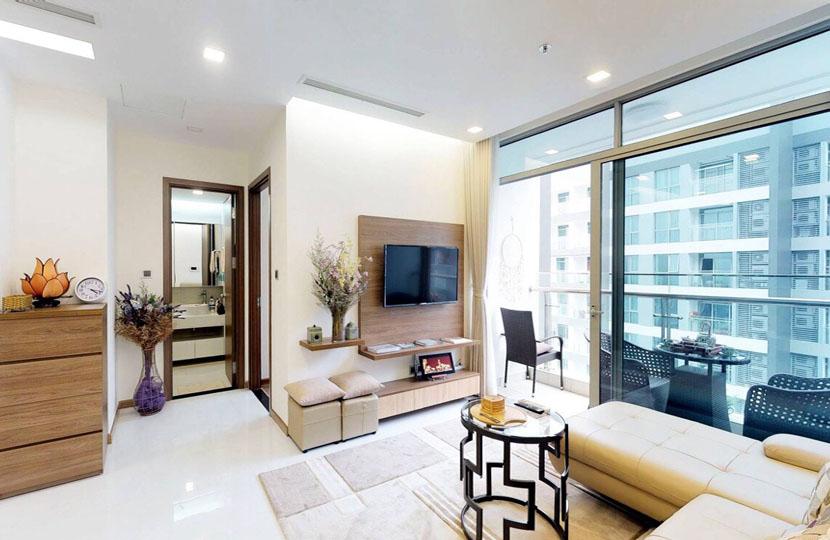 Cho thuê căn hộ 2PN Vinhomes Bình Thạnh - Park 1