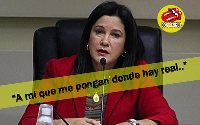 Mujer de Diosdado agarra nuevo enchufe como Ministra de Obras Publicas (+ Odrebrecht)