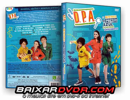 D.P.A. OS DETETIVES DO PRÉDIO AZUL (2016) DVD-R OFICIAL