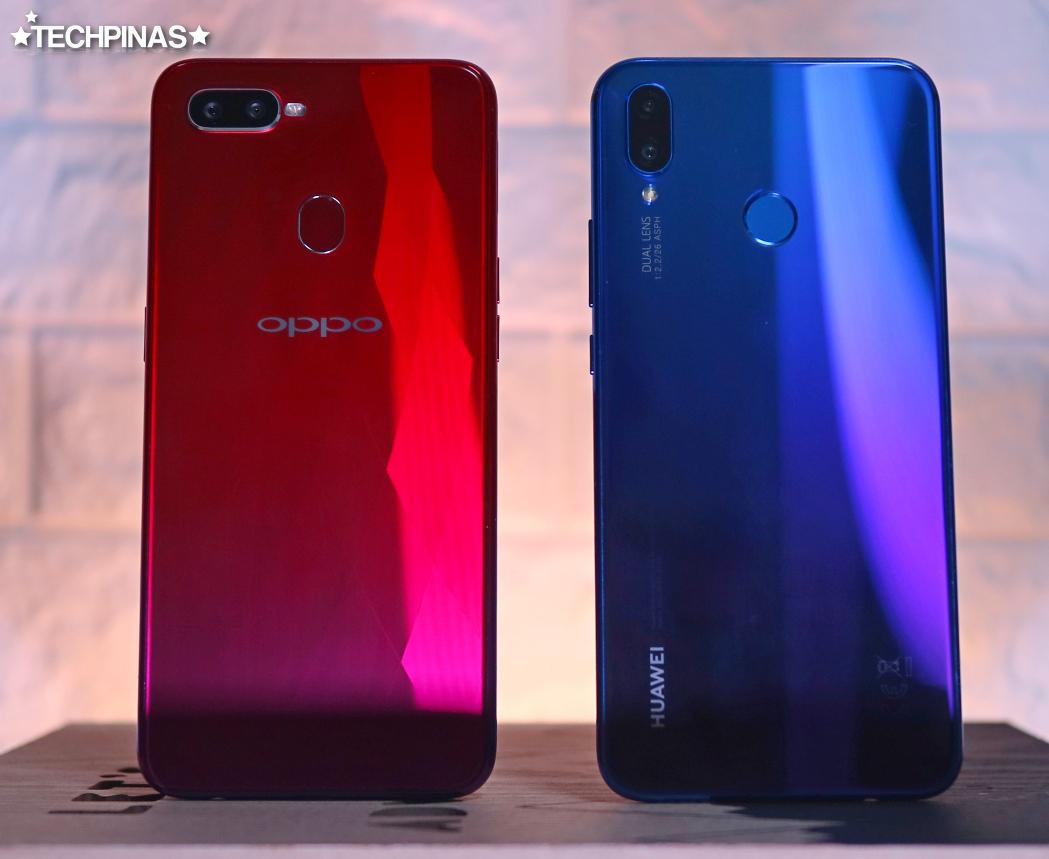 Huawei Nova 3i vs OPPO F9