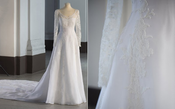 Swedish Royal Wedding Dresses 1976-2015 exhibition opened