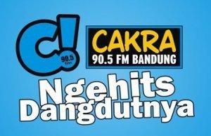 Radio Cakra 90.5 FM Bandung Ngehits dangdutnya