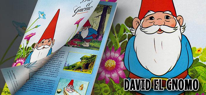 Álbum David el Gnomo Danone 1985