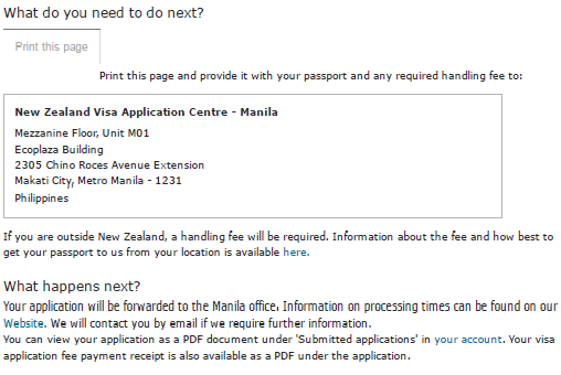 New Zealand Tourist Visa Online Application For Filipinos The