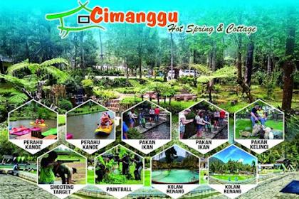 Taman Wisata Alam Cimanggu Hot Spring & Cottage [ Harga Tiket & Kamar Rendam ]