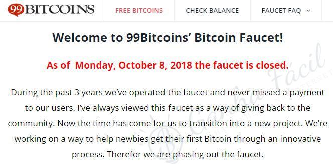 99 bitcoins faucet