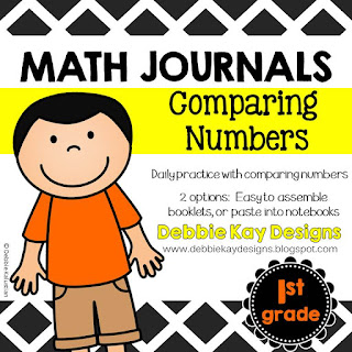 https://www.teacherspayteachers.com/Product/Math-Journals-Comparing-Numbers-2272581