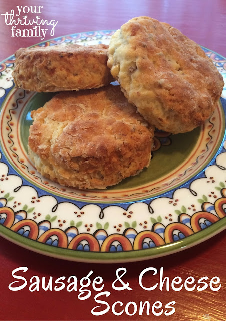 Sausage and Cheese Scones