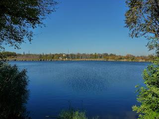 Новоэкономическое. Синянское водохранилище
