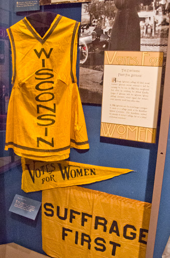 Women's Suffrage Artifacts at Wisconsin Historical Museum
