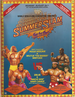 WWF / WWE Summerslam 1989 - Event poster