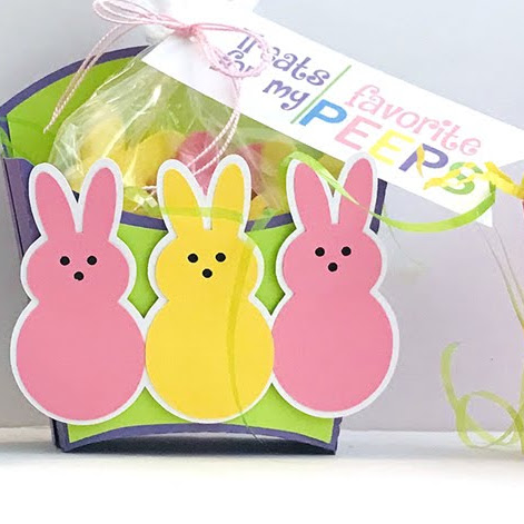 Easter Peep Fry Boxes