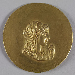 Olympias, birth name; Myrtle, was the daughter of Neoptolemus