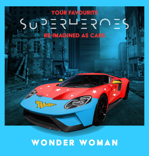 Wonder Woman - Ford GT