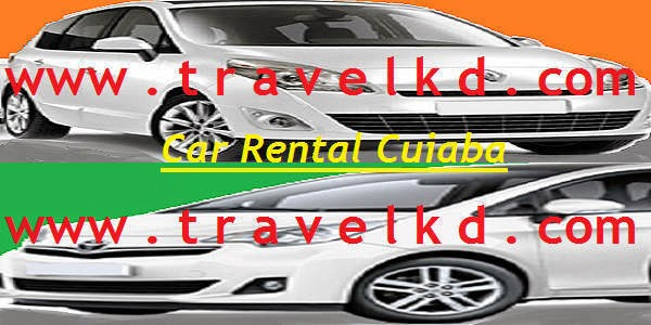 Car rental service in Cuiaba of Brazil