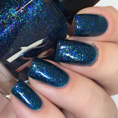 femme fatale rainbow fish swatch girly bits shop exclusive