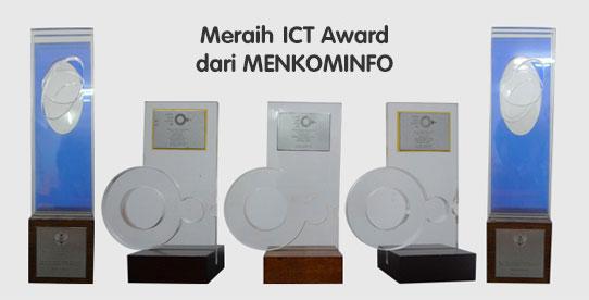 Meraih ICT Award dari MENKOMINFO
