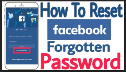 Forgot Password Facebook