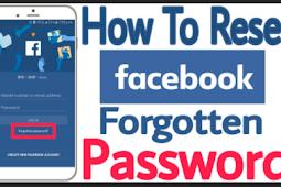 I forgot My Facebook Password How Do I Retrieve It
