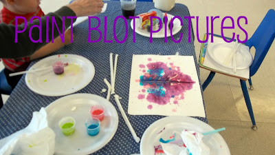 Edible Painting with Straws is Fun, Sensory Activity for Toddlers