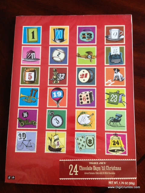 graphic about Trader Joe's Printable Coupons identify DigiCrumbs: Investor Joes Chocolate Arrival Calendars - Tremendous