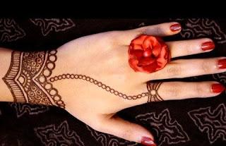 Mehndi designs simple fingers